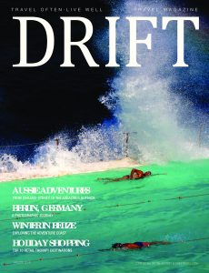 Follonico appear in Drift Travel this month..