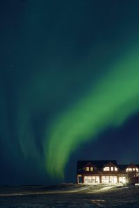 The Northern Lights at Hotel Ranga