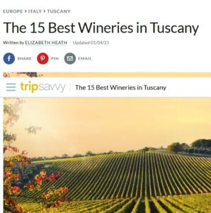 MonteRosola, one of the top 15 wineries in Tuscany